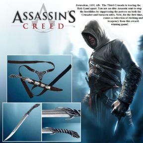Altair Assassins Creed Fighting Knife & Belt